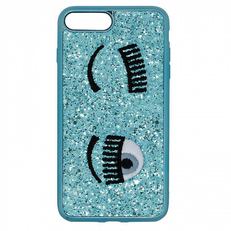 CHIARA FERRAGNI blue flirting iphone 6/7/8 plus case